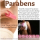 Parabens in antiperspirant cause breast cancer?