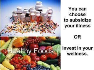 You can choose illness or wellness