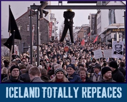 Repeace: Iceland. Taking back the government