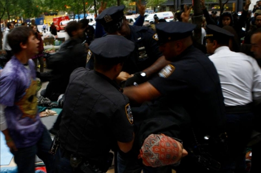 Occupy Wall Street--Police brutality