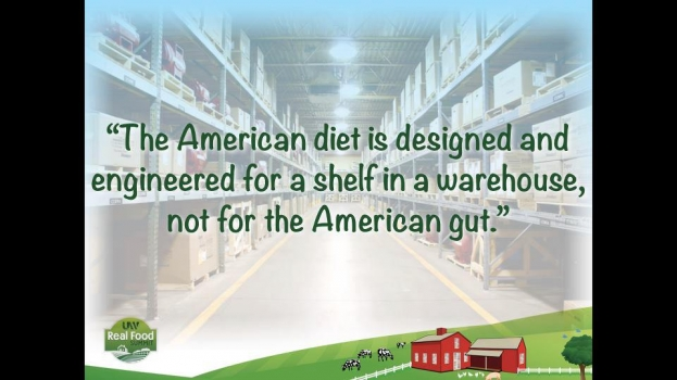 SAD: Standard American Diet. Not made for the body.