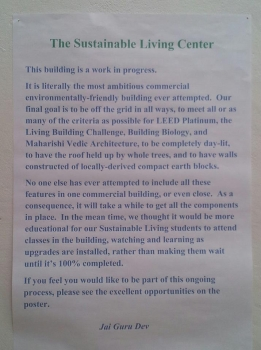 The Sustainable Living Center